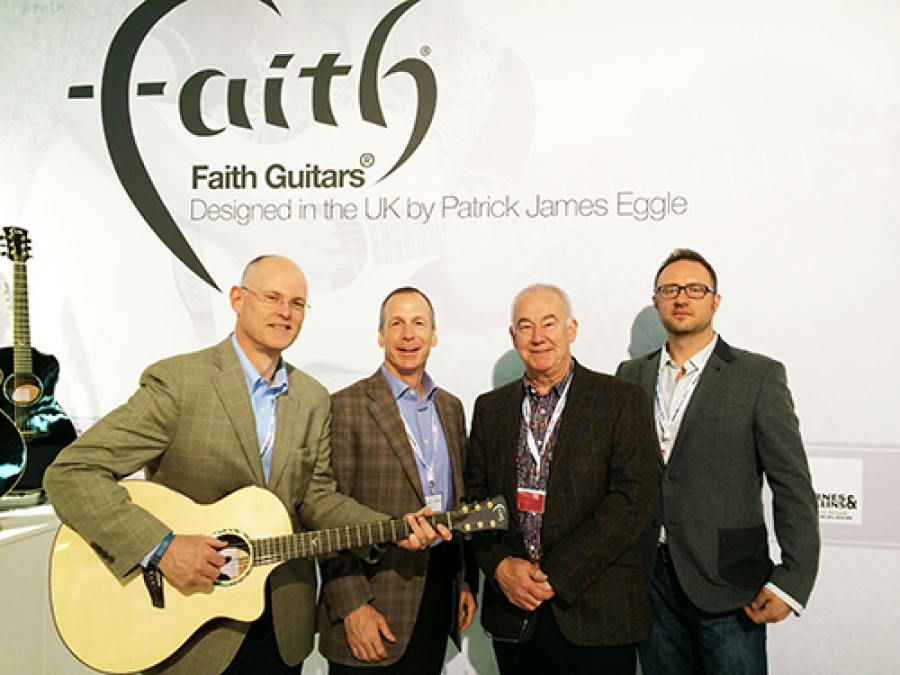 Faith Guitars coming to the USA.*Press Release*