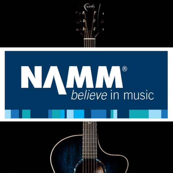 Faith at Winter NAMM 2020