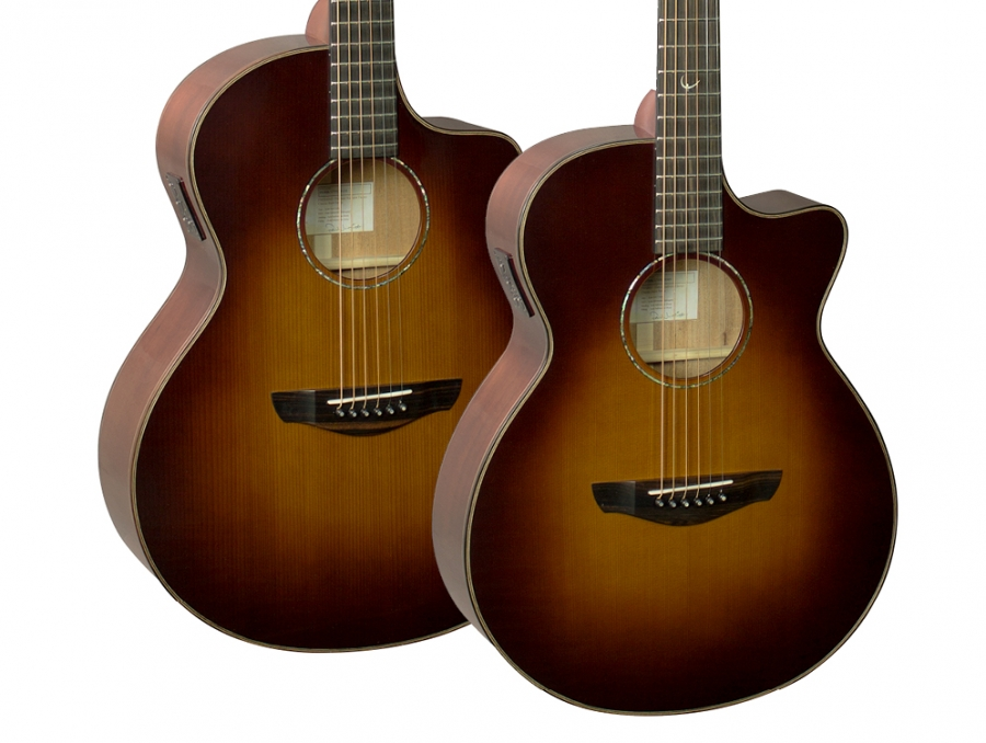 New Classic Burst Venus & Neptune guitars.
