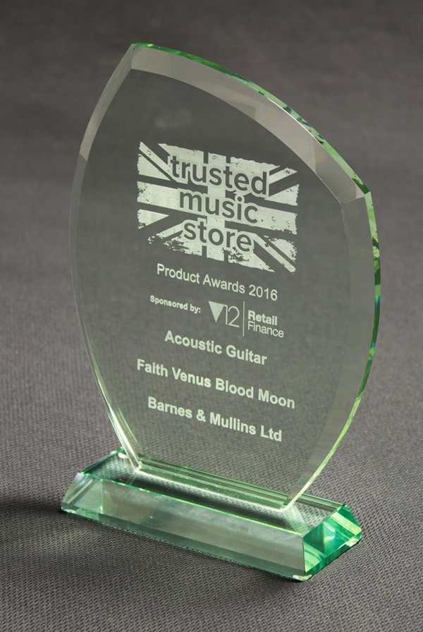 Faith Awarded– Best Acoustic Guitar Award 2016