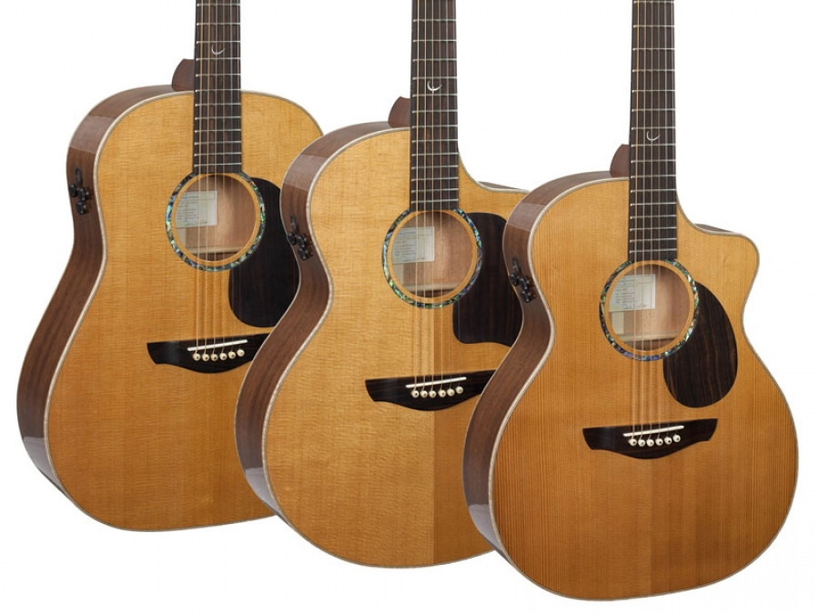 New PJE Legacy Series guitars