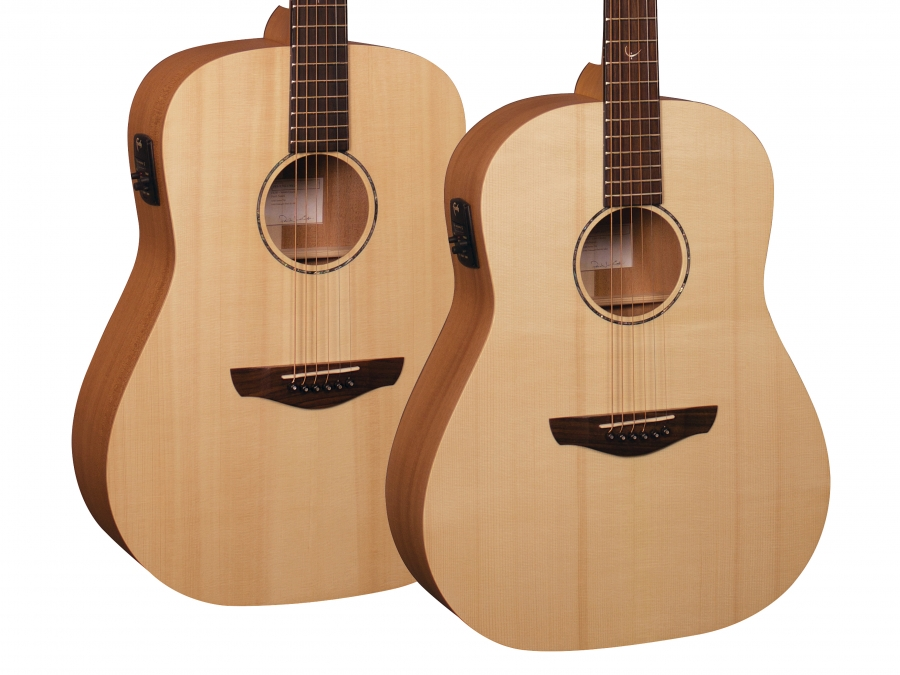 New Saturn & Mars Naked Series guitars.